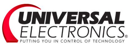 Logo Universal Electronics